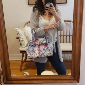 Betsey Johnson Floral purse with bow
